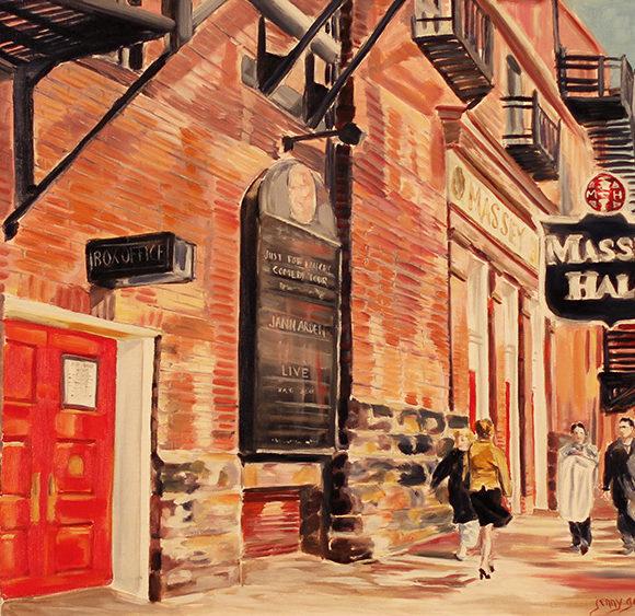 Massey Hall Theatre Toronto