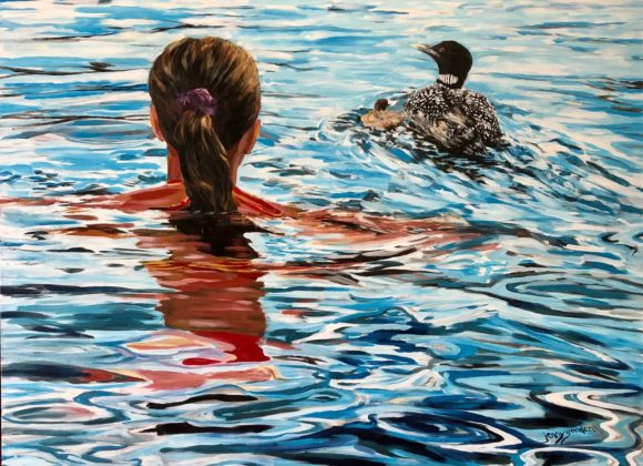 Swim with the Loons