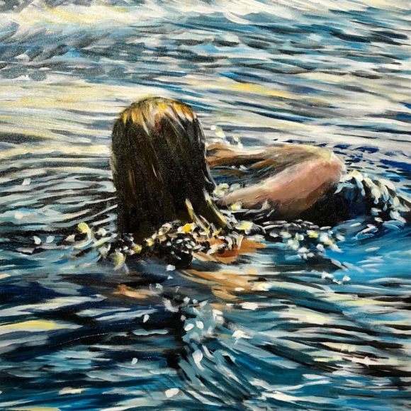 The Evening Swimmer
